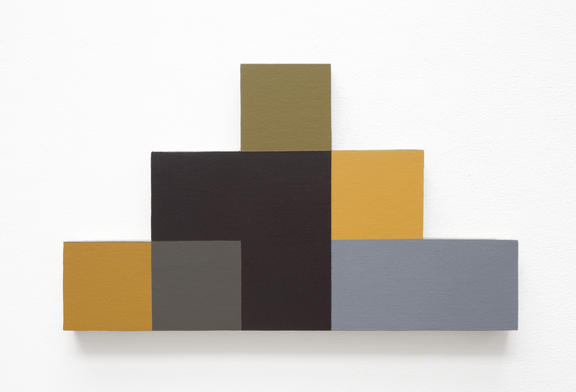 , 'Step Pyramid #9,' 1987, Haines Gallery
