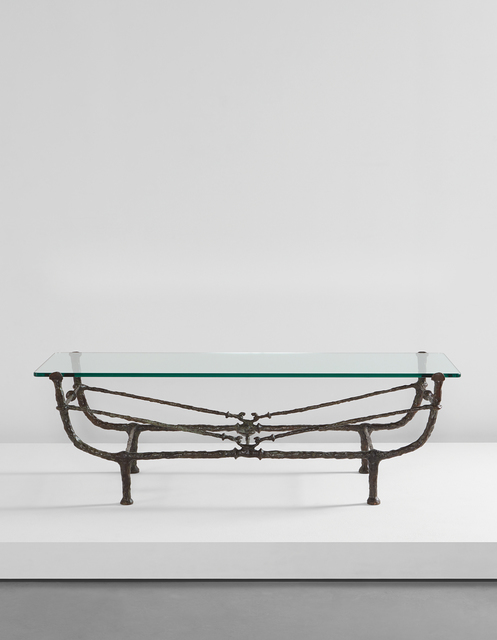 Diego Giacometti, 'Table berceau, première version', designed ca. 1963, Phillips