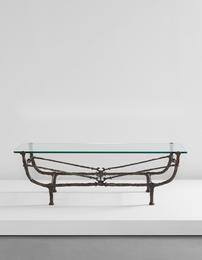 Table berceau, première version