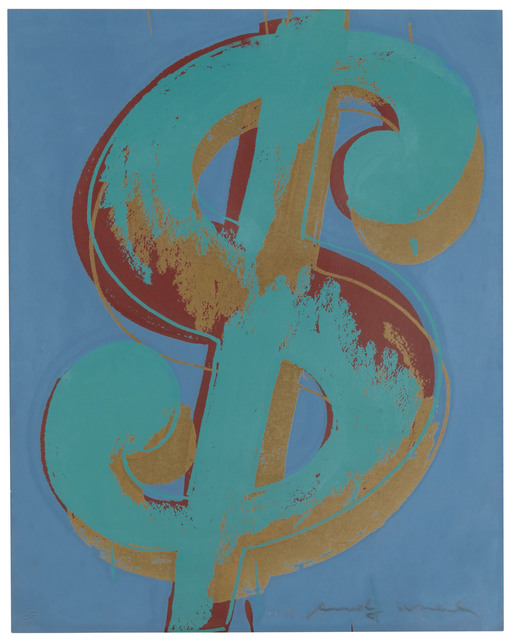 Andy Warhol, '$ (1): one plate', 1982, Christie's