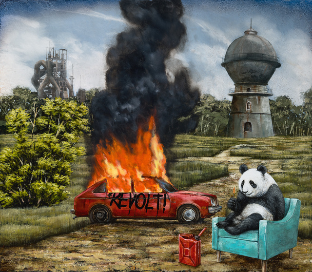 , '15 Minutes of Fame (Adding Fuel to the Fire),' 2018, Patricia Rovzar Gallery