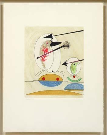 Max Ernst, 'Si le chant et le parole ne suffisent', 1975, Anquins Galeria