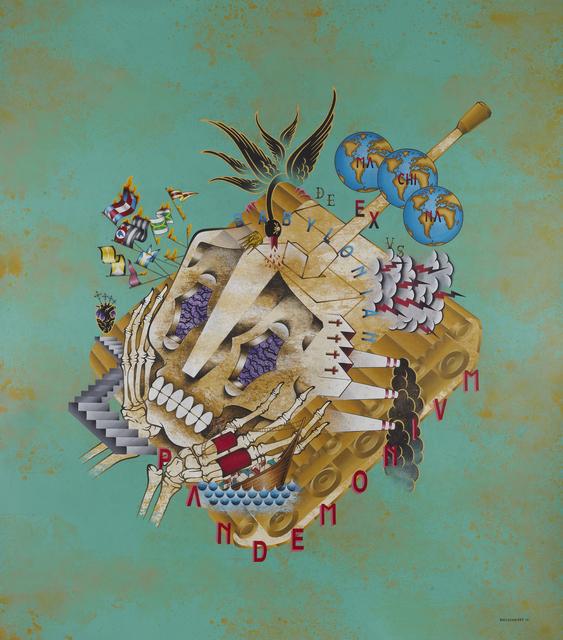 , 'Babylonian Pandemonium,' 2015, Jonathan LeVine Projects