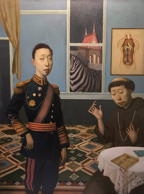 , 'Emperor and Monk,' 2016, Gallery House