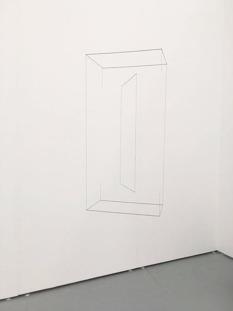 , 'Line Sculpture (cuboid) #12,' 2017, MARSO