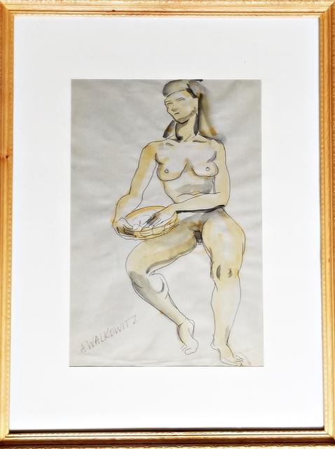 Abraham Walkowitz, 'Nude Figure', ca. 1915, Alpha 137 Gallery