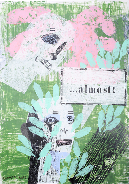 , '...almost!,' 2017, Anaid Art