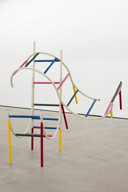 , 'Playground Structure (Stacked Worm),' 2016, Nicodim Gallery