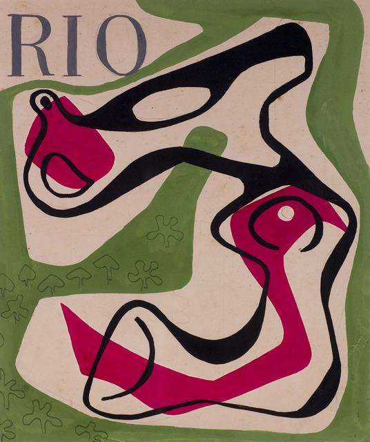 , 'Cover Design for the Magazine Rio,' 1953, The Jewish Museum
