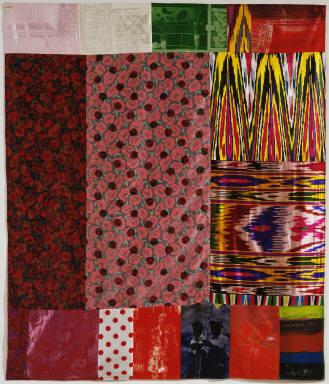 , 'Samarkand Stitches I,' 1988, Upsilon Gallery