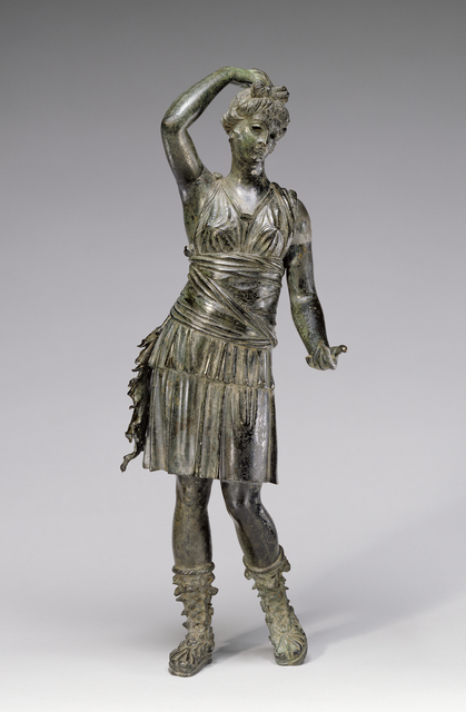 'Statuette of Diana',  1st century B.C., J. Paul Getty Museum