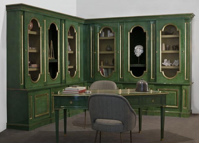 , 'Bibliothèque - Corner Bookcase,' ca. 1960, Maison Gerard