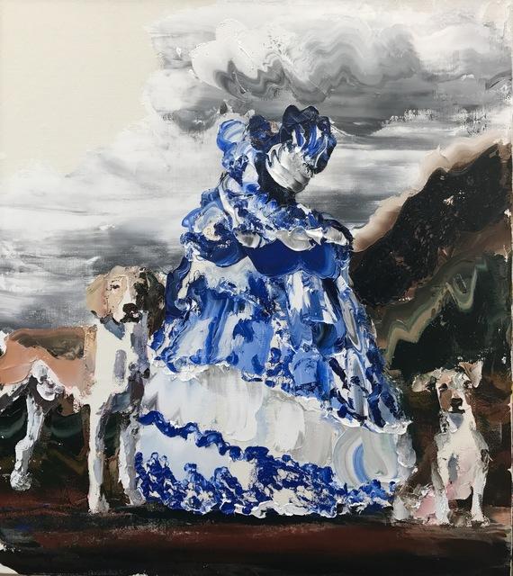, 'Colonial Girl, Blue and White,' 2017, Nanda\Hobbs