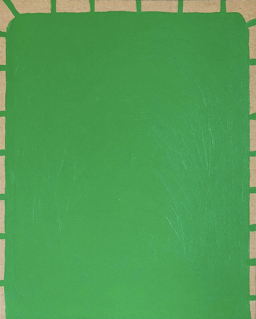 , 'Green Sun,' 2018, The Dot Project