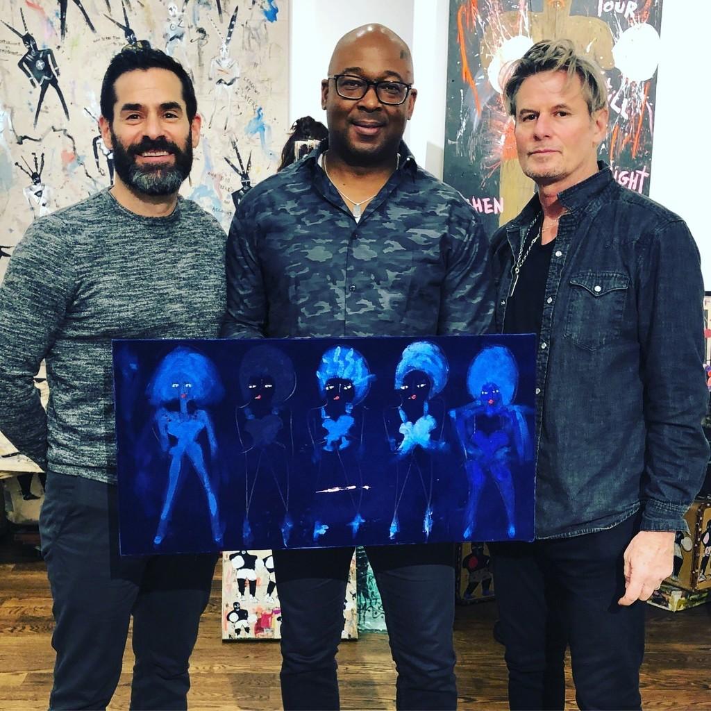 New Collectors of artist, Richard Kurtz • Esperanza Projects Booth 18 • New York Outsider Art Fair 2019
