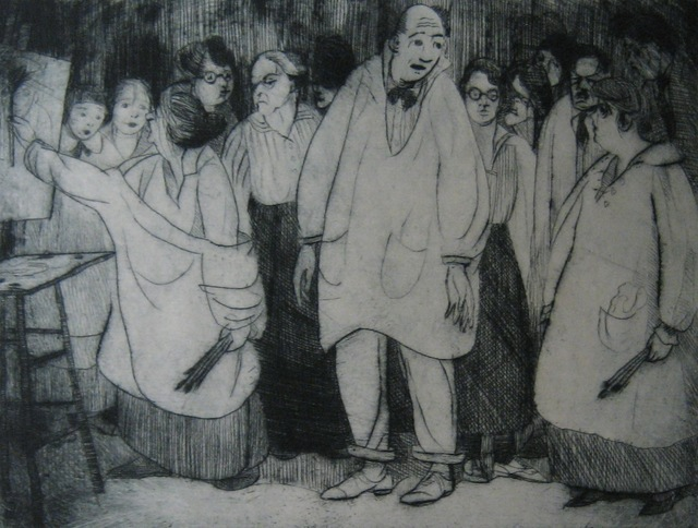 , 'The Bellows Class,' 1918, Paramour Fine Arts
