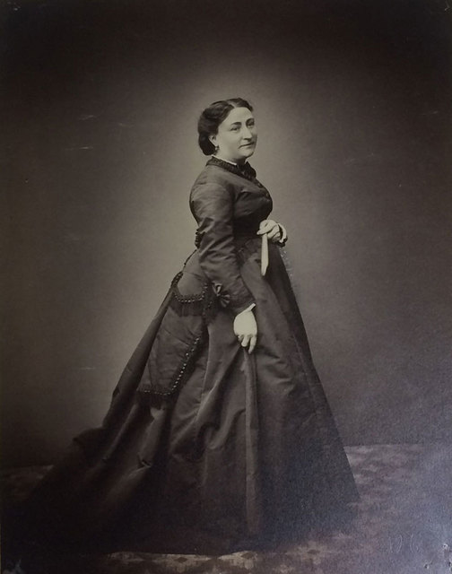 Louis-Rémy Robert, 'Madame Baron', ca. 1850, Photography, Albumen paper from negative glass, Baudoin Lebon Gallery