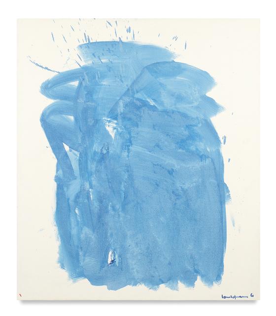 , 'Blue Mirage,' 1961, Miles McEnery Gallery