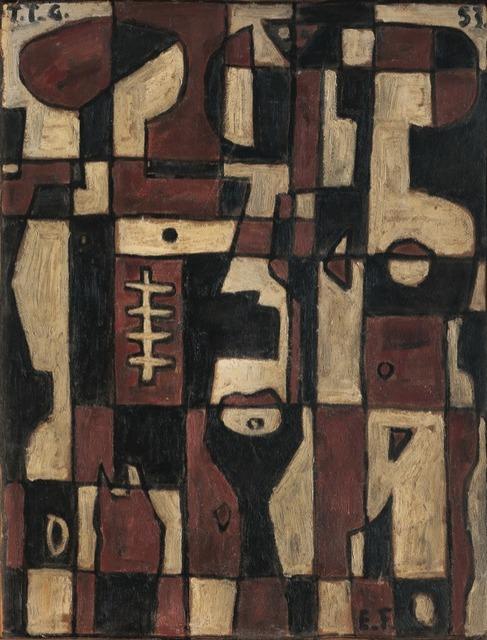 , 'Pareja Constructiva,' 1953, Galería de las Misiones