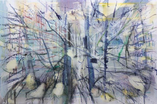 , 'Hecke,' 2016, Galerie Andreas Binder