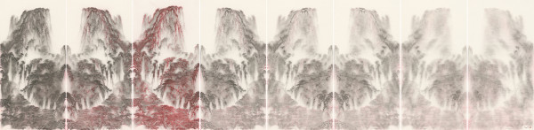 , 'Transmission XIII (with Hung Hoi) 传移摹写之十三(熊海合作),' 2017, Ink Studio