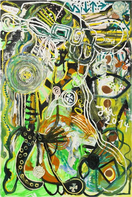 Jonathan Meese, 'HALLO, BEWURSCHTL' DEIN BUSINESS A LITTLE FRESH', 2014, bromer kunst