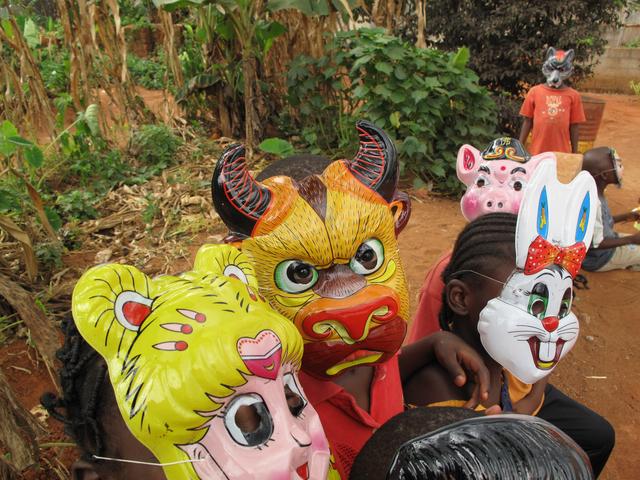 Pascale Marthine Tayou, 'Kids Mascarade', 2009, Richard Taittinger Gallery