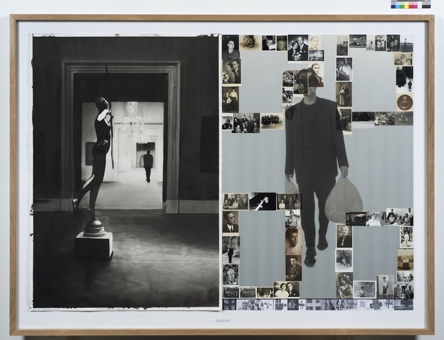 , 'DATES, Radenko Milak & Roman Uranjek,  July 26, 1928,  Elliott Erwitt Was Born, Diptych,' 2016, Galerija Fotografija