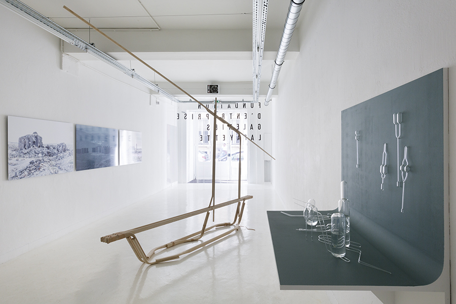 """Romain Kronenberg and Benjamin Graindorge: Été perpétuel"" at Fondation d'Enterprise Galeries Lafayette (2015). Photo: Vinciane Verguethen"