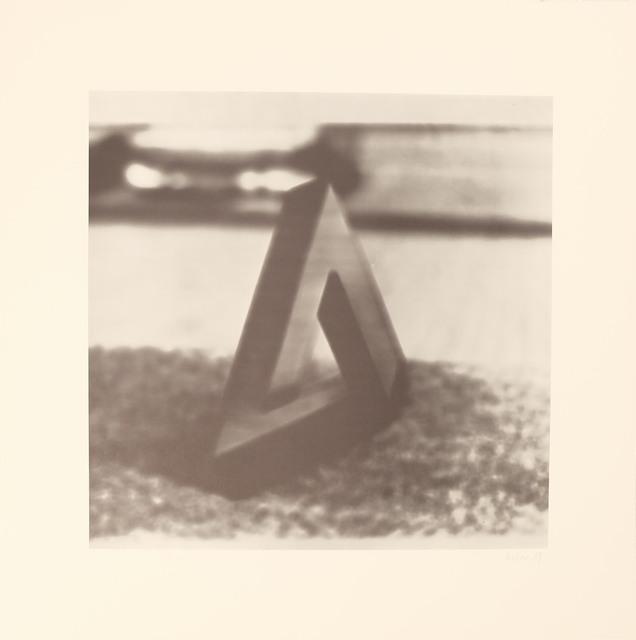 , 'Blatt a aus der Edition: 9 Objekte ,' 1969, Galerie Brigitte Schenk