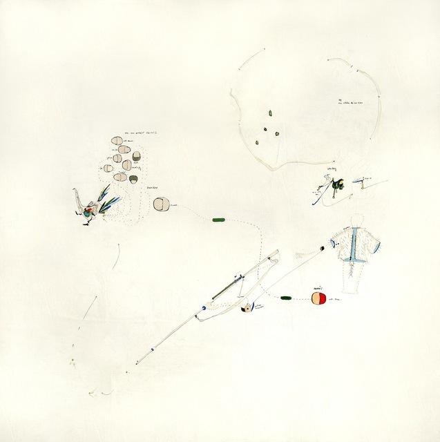 , 'Lauf nicht von Weg ab.,' 1964, Galleria il Ponte