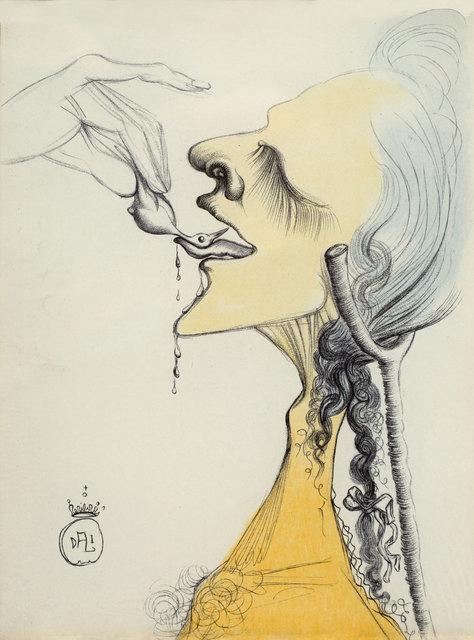 Salvador Dalí, 'Bird on Tangue. Casanova', 1967, Baia Gallery