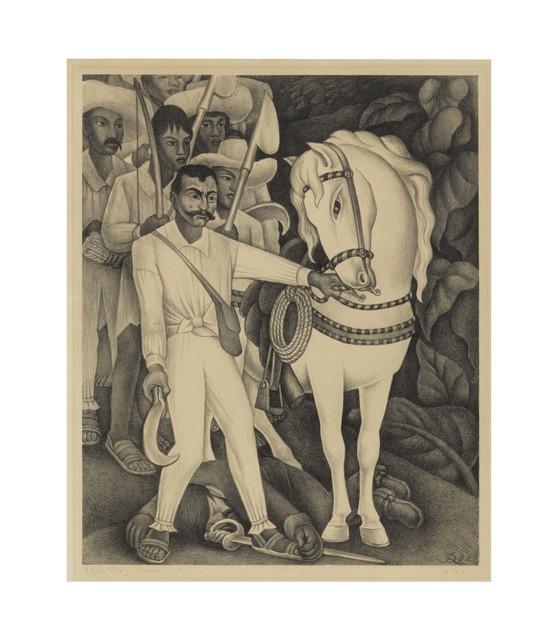 Diego Rivera, 'Emiliano Zapata', 1932, Print, Lithograph on wove paper, Christie's