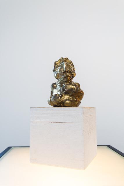 , 'Sem coração (dourado),' 2012, RV Cultura e Arte