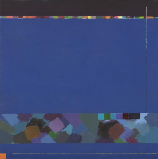 ", 'PINTURAS DA SÉRIE  ""TABELA DE COR""  ,' 2010-2012, Dan Galeria"
