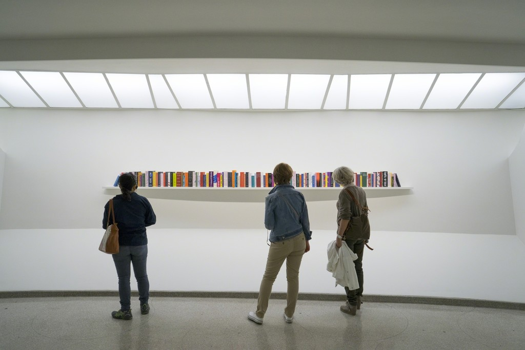 Installation view: Storylines: Contemporary Art at the Guggenheim, Solomon R. Guggenheim Museum, New York, June 5–September 9, 2015. Photo: David Heald © Solomon R. Guggenheim Museum, New York