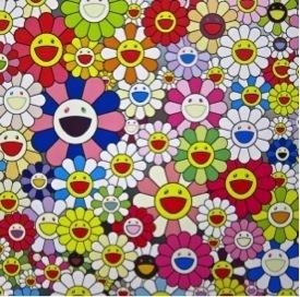 Takashi Murakami, 'Such Cute Flowers', 2010, Soho Contemporary Art