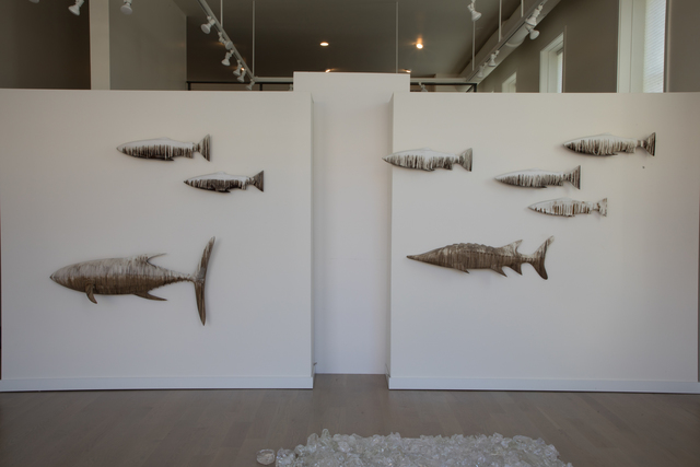 , 'EDNA: Salmon, Bluefin, Sturgeon,' 2015-2018, Mark Moore Fine Art