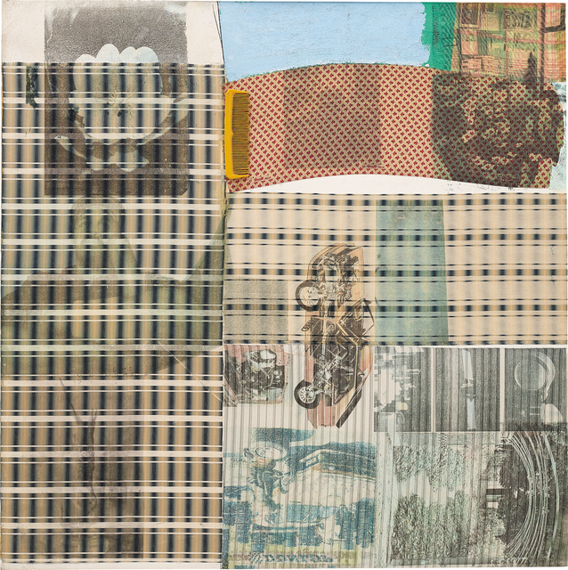 Robert Rauschenberg, 'Tally - Signal Series', 1980, Mixed media on paper, Phillips