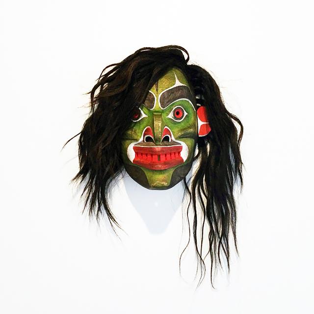 , 'Winalagalis (War Spirit) Mask,' 2015, Fazakas Gallery