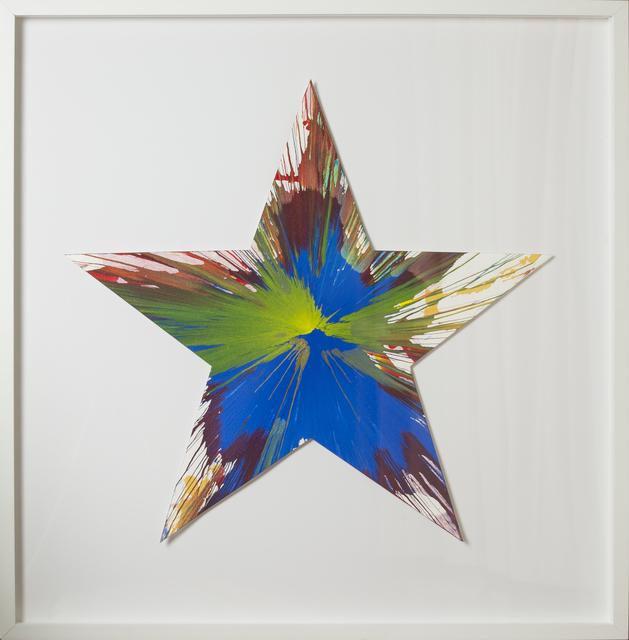 Damien Hirst, 'Spin Painting - Star ', 2009, RUDOLF BUDJA GALLERY