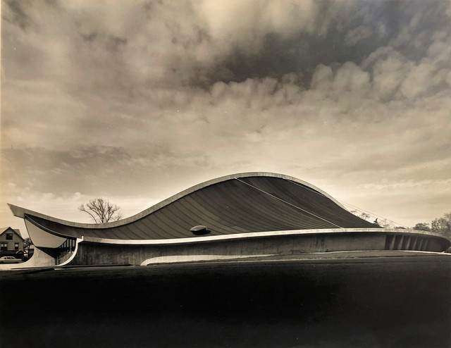 , 'Yale Skating Rink, Exterior, New Haven, CT (Eero Saarinen, Architect),' 1958, Edward Cella Art and Architecture