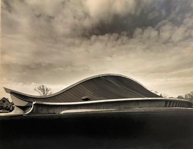 Pedro E. Guerrero, 'Yale Skating Rink, Exterior, New Haven, CT (Eero Saarinen, Architect)', 1958, Edward Cella Art and Architecture