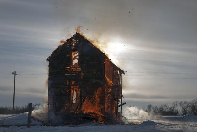 , 'The Death of The Dollhouse, Fire#4,' 2007, SLATE Fine Art Gallery
