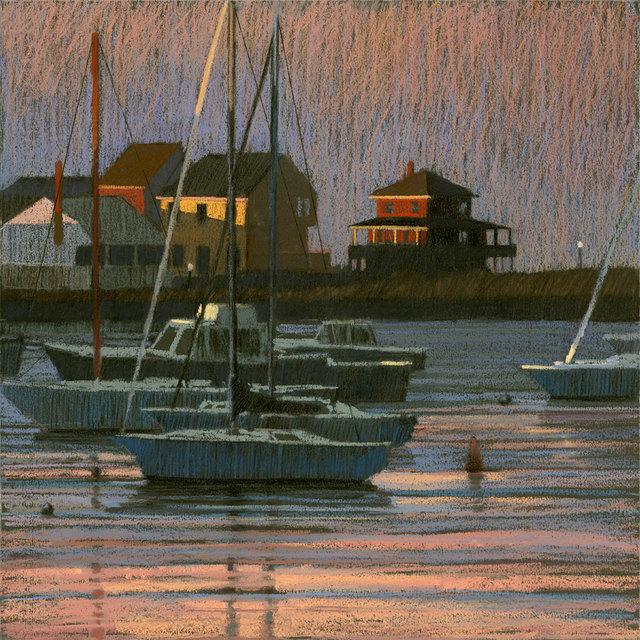 Liz Haywood-Sullivan, 'Harbor Dusk', 2011, Vose Galleries