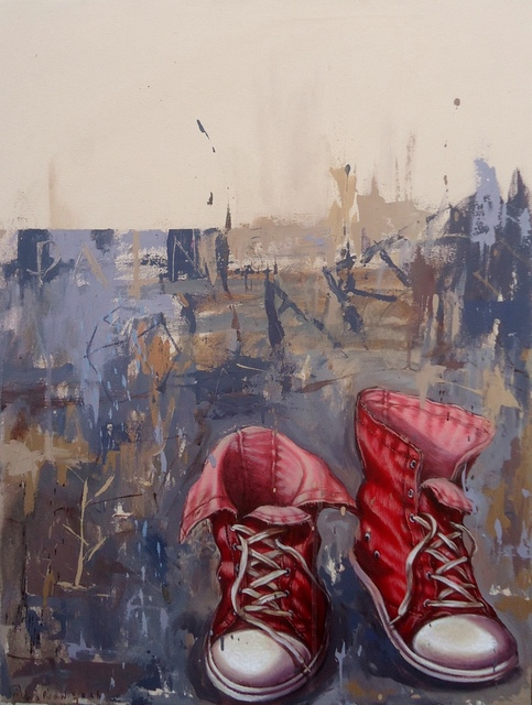 , 'The Shoes (After Van Gogh),' 2016, Di Legno Gallery