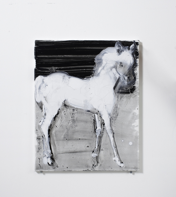 , 'White Horse,' 2016, Arusha Gallery