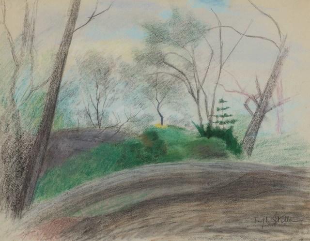 Joseph Stella, 'Landscape in the Bronx', Doyle