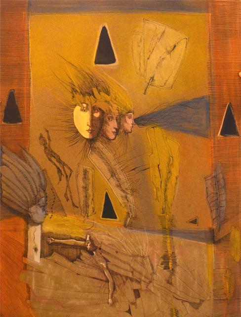 Burt Hasen, 'The Charmed Swimmer', 1984, Anita Shapolsky Gallery