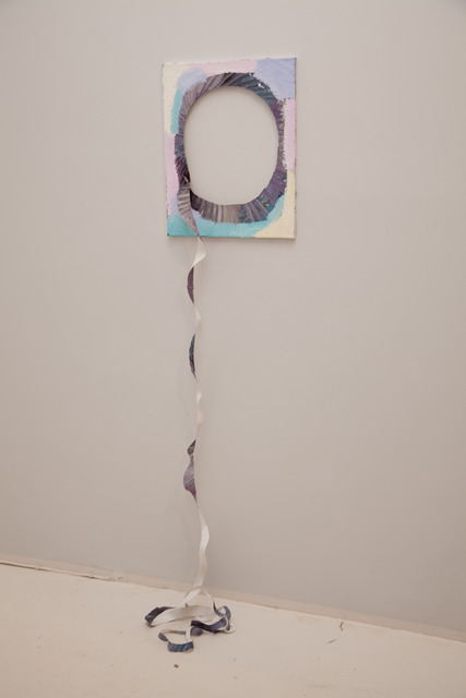 , 'A painting with a spiral cut out,' 2012, Temnikova & Kasela